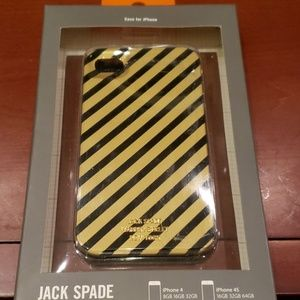 Jack Spade Iphone4 or 4s phone cover